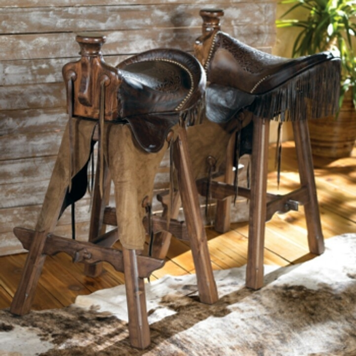 Man Cave On Pinterest Man Cave Signs Tractor Seats And European with saddle bar stools regarding Property