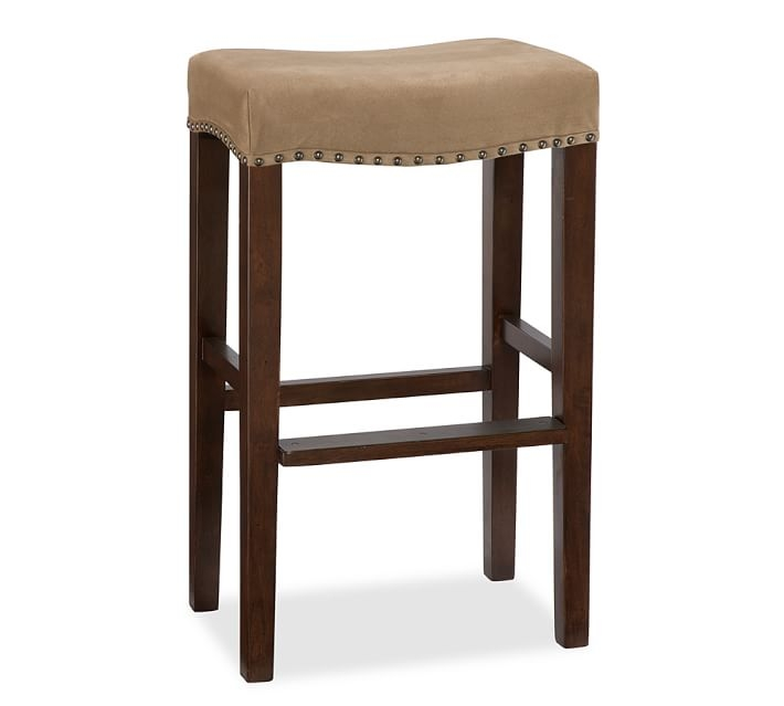 Manchester Backless Barstool Pottery Barn in backless bar stools for Desire