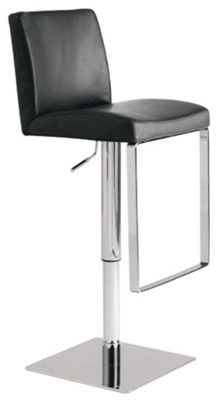 Matteo Bar Stool Black Modern Bar Stools And Counter Stools intended for Bar Stool Modern
