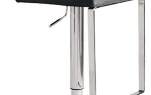 Matteo Bar Stool Black Modern Bar Stools And Counter Stools regarding The Stylish as well as Attractive modern bar stools regarding Home