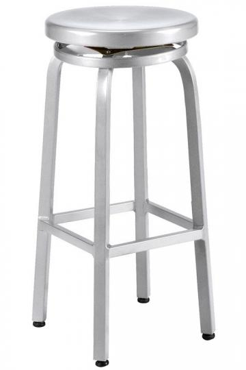 Melanie Swivel Bar Stool Kitchen Stools Bar Stools in aluminum swivel bar stools for Your own home
