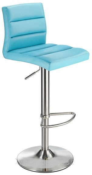 Metal Bar Stool Yellow Stainless Steel Brushed Furniture From within teal bar stools pertaining to Your home