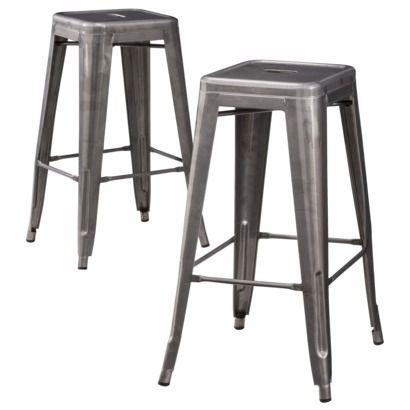 Metal Bar Stools Carlisle And Bar Stools On Pinterest throughout 24 Metal Bar Stools