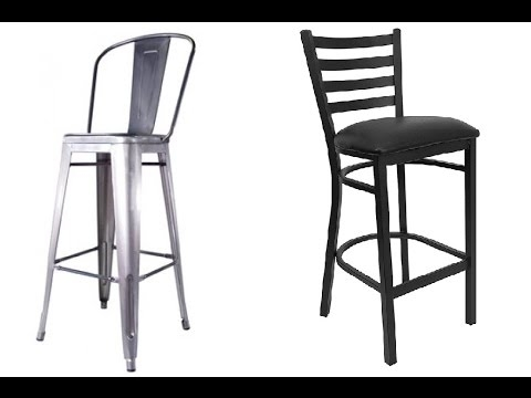 Metal Bar Stools With Back Ideas Youtube with regard to The Most Stylish  metal bar stools with back intended for Cozy