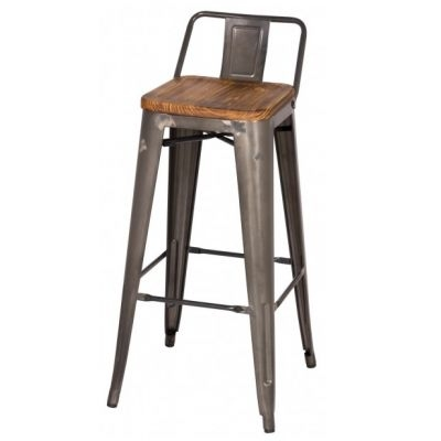 Metal Counter Stools Low Back And Counter Stools On Pinterest with The Most Stylish  metal bar stools with back intended for Cozy