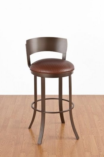 Metal Swivel Bar Stool With Back Home Bar Design with regard to bar stools that swivel with a back for Your house