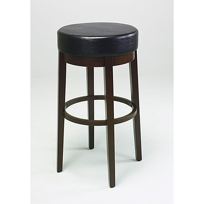 Metro 30 Inch Round Bar Stool 11774705 Overstock Shopping inside Round Bar Stools
