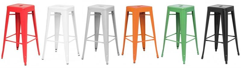 Metropolis Metal Bar Stool throughout metal backless bar stools intended for Present Residence