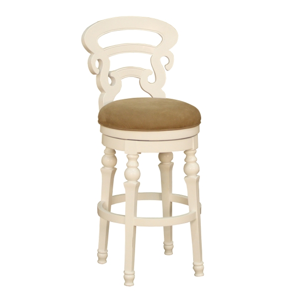 Metropolitan Antique White Bar Stool American Heritage throughout The Most Amazing  antique white bar stools for Wish