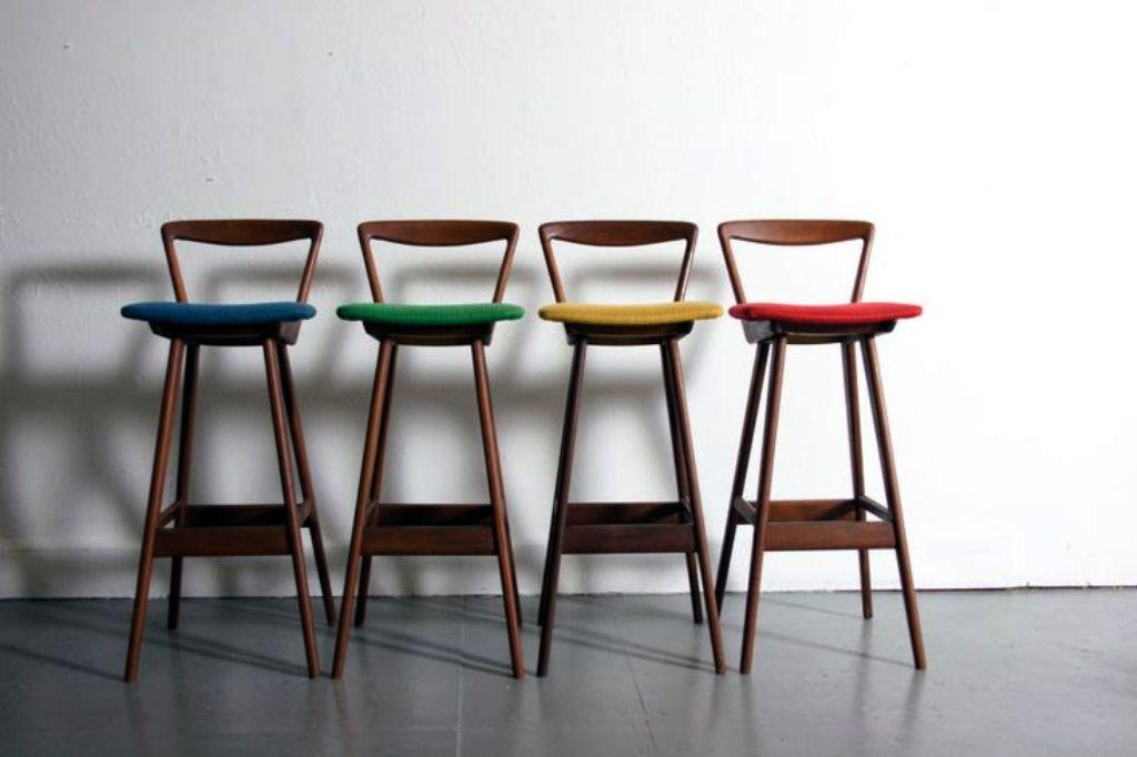 Mid Century Bar Stools On Ebay for mid century modern bar stool regarding Home