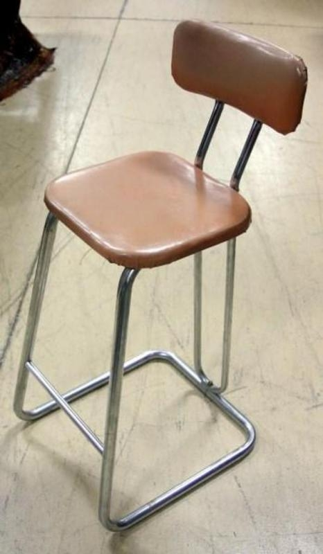 Mid Century Retro Style Daystrom Hairpin Back Bar Stool 33quoth X 115quotw intended for 33 Bar Stools