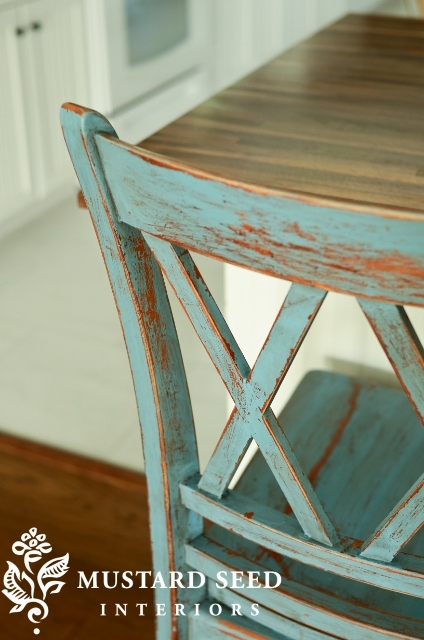Milk Painted Bar Stool Miss Mustard Seed regarding painted bar stools intended for Motivate