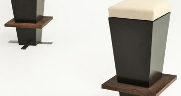 Modern Bar Stool With Live Edge Slab Natural Wood Organic with bar stool modern pertaining to House