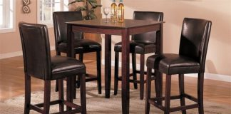 Modern Bar Tables And Chairs Home And Design Gallery intended for The Most Awesome  bar stool table set intended for Invigorate