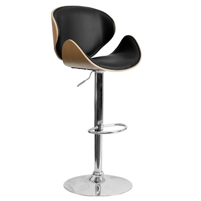 Modern Barstools Counter Stools Allmodern throughout Adjustable Height Bar Stools