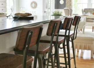 Modern Farmhouse Kitchen Barstools Revealed City Farmhouse for Incredible  farmhouse bar stools regarding Really encourage