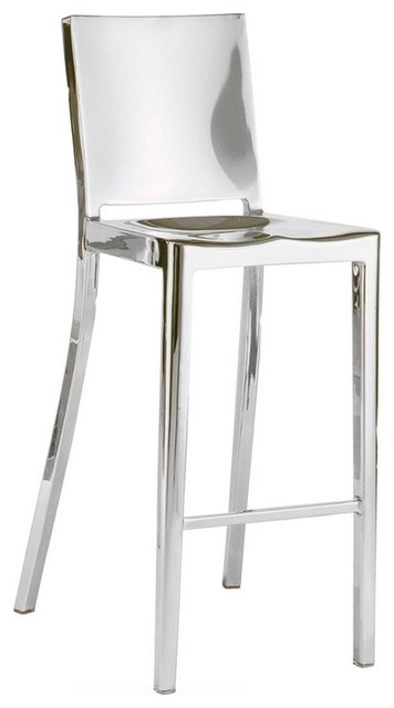 Modern Stainless Steel Stool Contemporary Bar Stools And in stainless steel bar stools with regard to Present Household