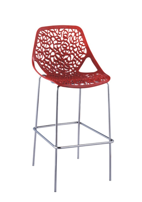 Modern Style Plastic Seating Bar Stools Chair From China for Plastic Bar Stools