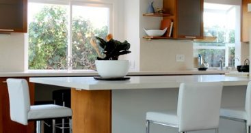 Modern White Leather And Chrome Bar Stools Modern Kitchen with regard to modern kitchen bar stools pertaining to Residence