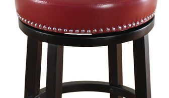 Mossoro Red Swivel Leather Counter Stool Modern Bar Stools And with Red Swivel Bar Stools