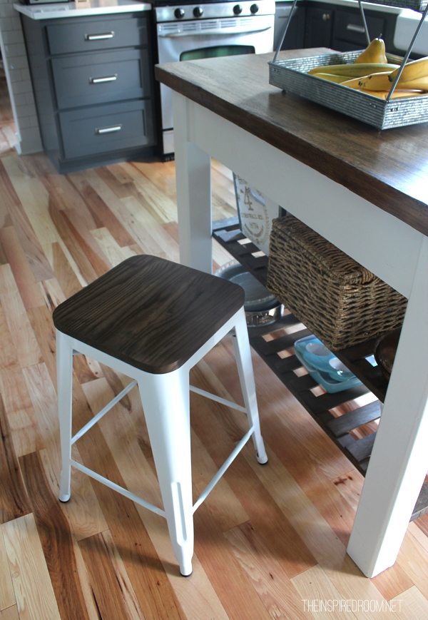 New Farmhouse Bar Stools For The Kitchen The Inspired Room with regard to Incredible  farmhouse bar stools regarding Really encourage