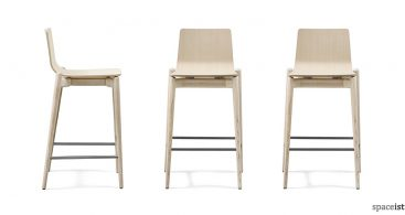 New Products Archives Spaceist within light wood bar stools intended for Your property