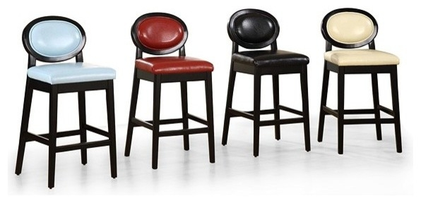 Nice Low Back Bar Stool Armen Living 30 Inch Martini Low Back Bar in The Elegant and Gorgeous 30 inch bar stools with back intended for Your home