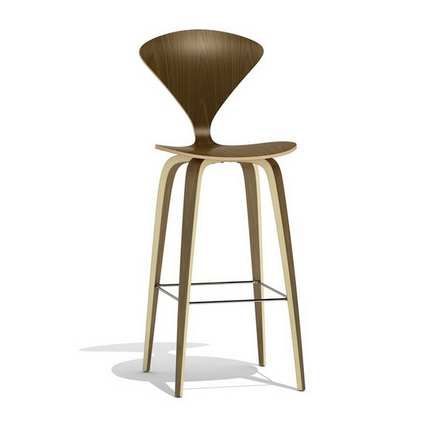 Norman Cherner Bar Stool Wood Base 3d Model 3dsmax Files Free with The Awesome and also Lovely cherner bar stool regarding Home