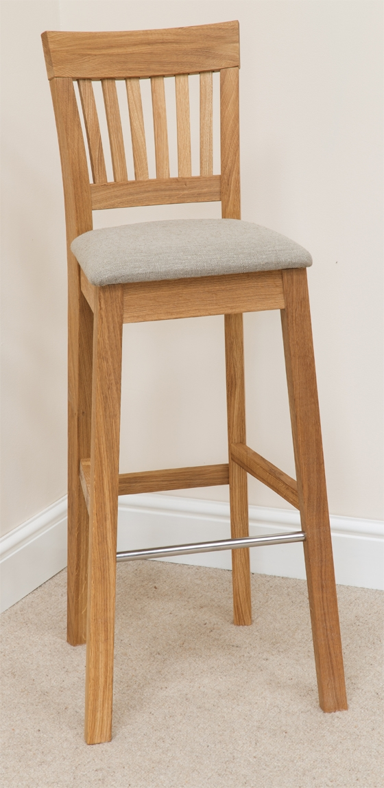Oak Bar Stools Wooden Stools Breakfast Bar Stools Kitchen intended for Oak Bar Stools