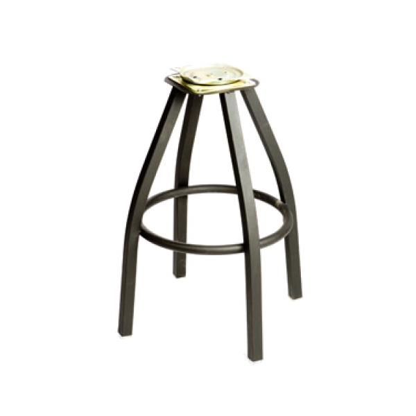 Oak Street Sl2132 Bottom Replacement Bar Stool Frame For Swivel in The Most Stylish  bar stool base with regard to Your house