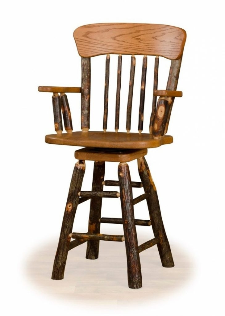 Oak Swivel Bar Stools With Arms Archives A Bar Stools Dream Wood intended for oak swivel bar stools pertaining to Your house