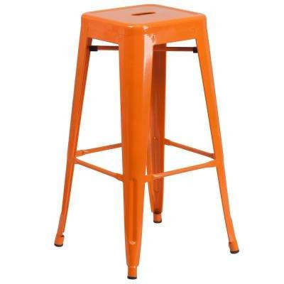 Orange Bar Stools Kitchen Amp Dining Room Furniture Furniture in Orange Bar Stool