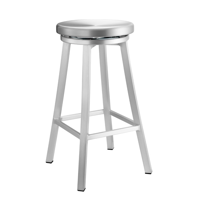 Outdoor Aluminum Swivel Barstoolaluminum Navy Chairs And regarding Aluminum Swivel Bar Stools