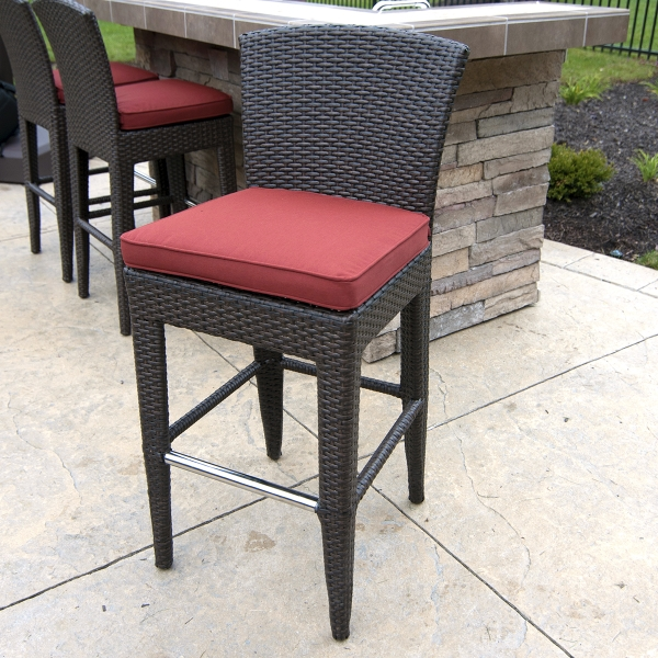 Outdoor Bar Stools Spice Up Your Outdoor Decor Inoutinterior in Elegant  bar stools outdoor intended for  Home