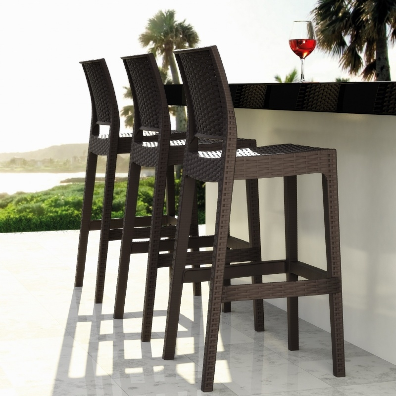Outdoor Bar Stools Spice Up Your Outdoor Decor Inoutinterior within Outside Bar Stools