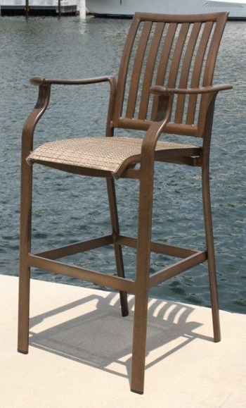 Outdoor Custom Tall Bar Stool regarding Outside Bar Stools