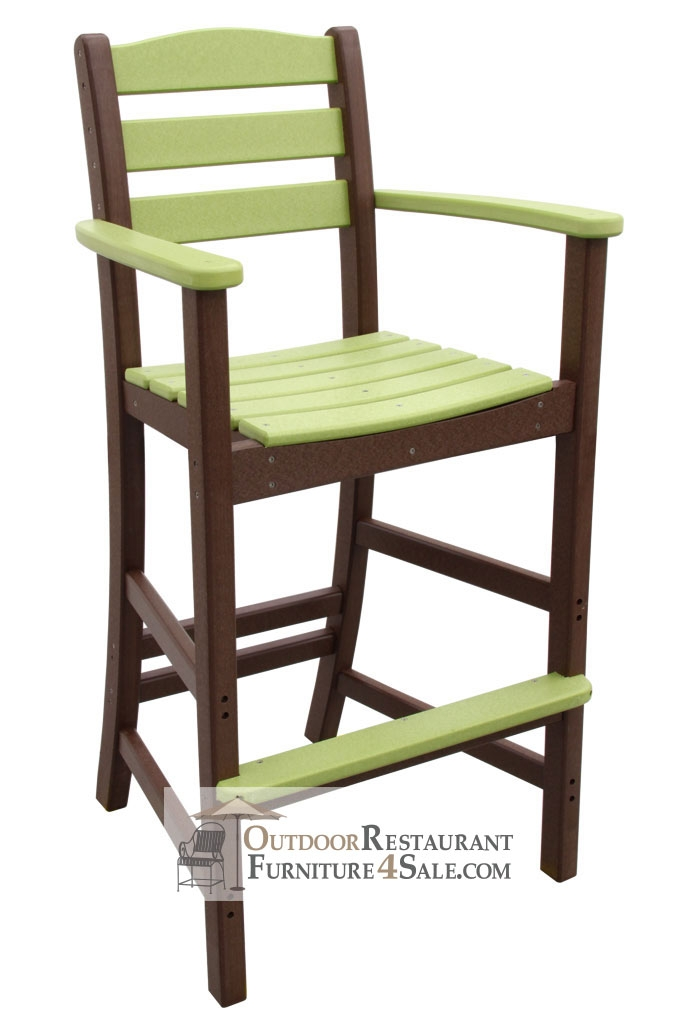 Outdoor Poly Lumber Restaurant Bar Stools regarding polywood bar stools for  Household