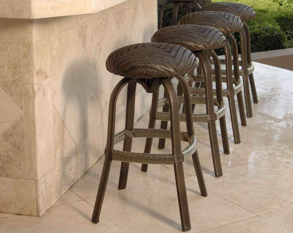 Outdoor Swivel Bar Stools With Backs And Arms Outdoor Swivel Bar in outdoor swivel bar stools with arms with regard to  Home