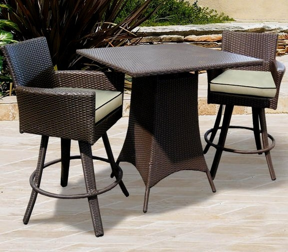 Outdoor Wicker Bar Stool Myfurnituredepo for Wicker Swivel Bar Stools