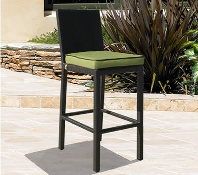 Outdoor Wicker Bar Stoolsall Weather Wicker Bar Stools in The Elegant and Beautiful outdoor wicker bar stools intended for Desire
