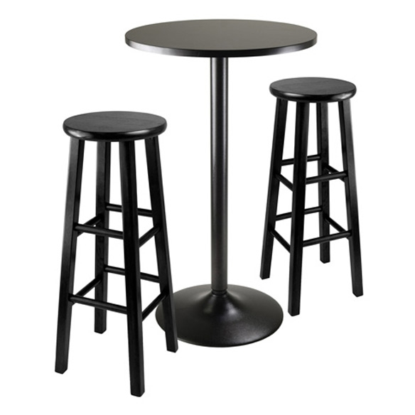 Pacey 2 Pc Set Bar Stools Winsome Wood pertaining to Winsome Wood Bar Stools