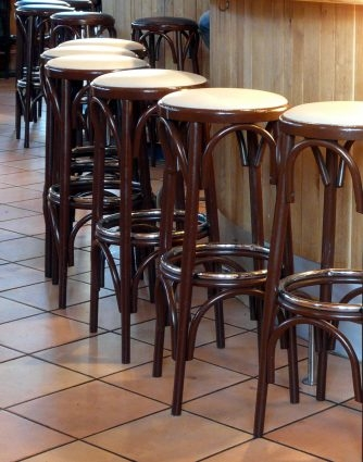 Palazzo 34 Inch Extra Tall Bar Stool Black Bar Stools At Hayneedle for how tall are bar stools regarding Inviting