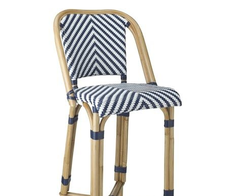 Parisian Bistro Woven Bar Stool Williams Sonoma pertaining to Elegant  bistro bar stools pertaining to Motivate
