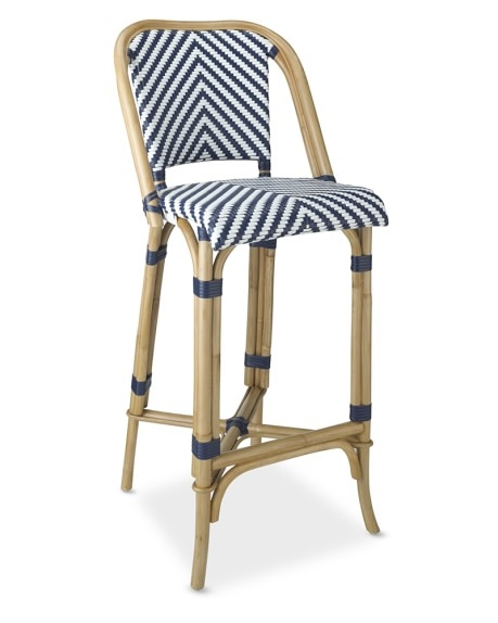 Parisian Bistro Woven Bar Stool Williams Sonoma with woven bar stools for Inspire