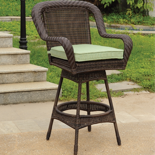 Patio Bar Stools Intended For Home The Society pertaining to Outdoor Patio Bar Stools