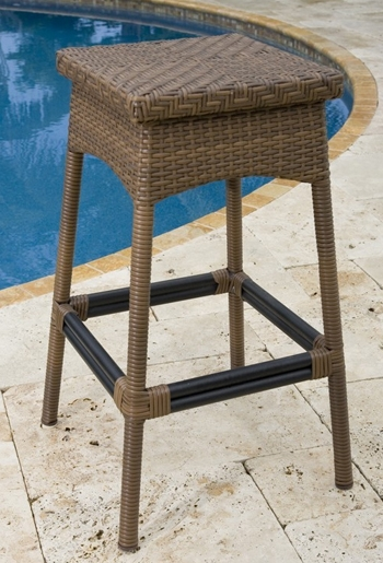 Patio Bar Stools Intended For Home The Society regarding Outdoor Patio Bar Stools