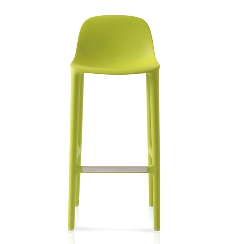 Philippe Starck Creates Stools Made From Recycled Materials For Emeco with plastic bar stools for Your home