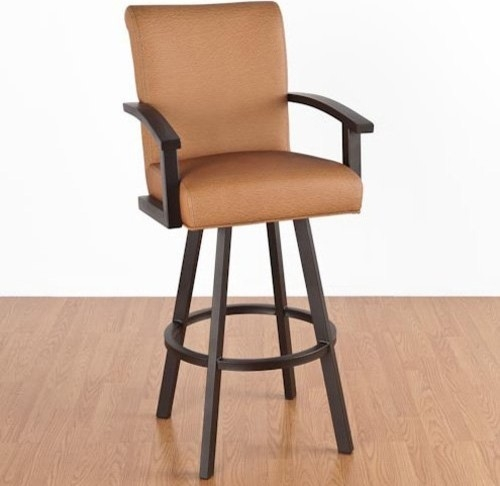 Photo Of Bar Stool With Back And Arms Stylish Bar Stools With Arms for The Most Incredible as well as Beautiful bar stools with arms pertaining to The house
