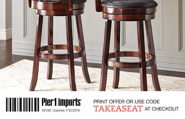 Pier 1 Final Hours 15 Off All Indoor Dining Chairs Amp Stools within The Stylish in addition to Lovely bar stools pier one with regard to Wish