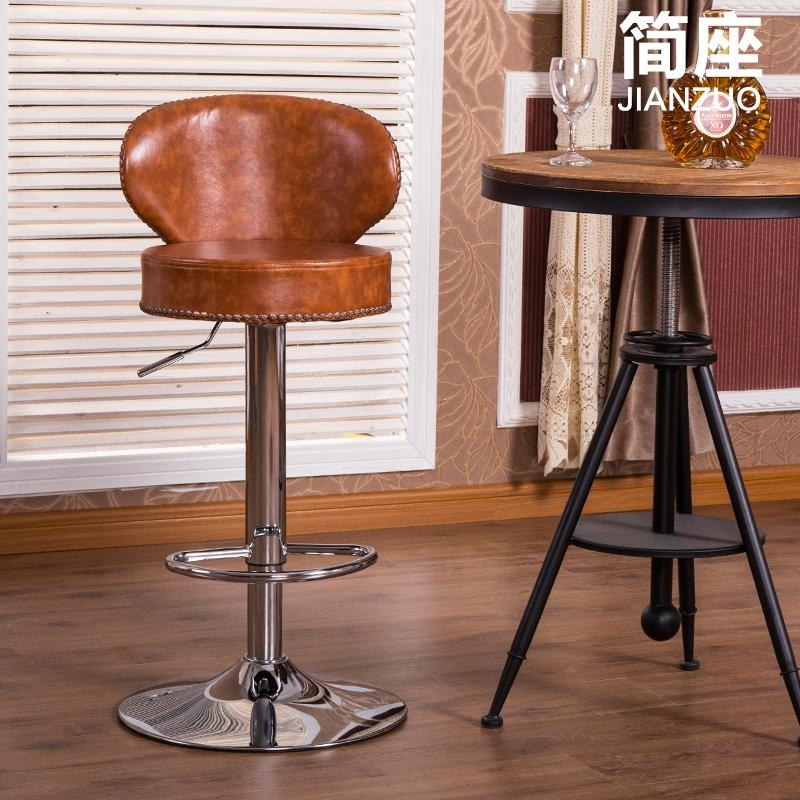 Popular Leather Bar Stool Buy Cheap Leather Bar Stool Lots From for bar stools leather with regard to  Household